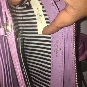 kate spade Bags - Kate Spade Purple Leather  Wallet